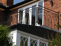 Gothic Balcony Balustrade