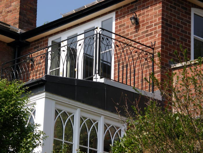 Gothic Balcony Balustrade Gates Railings Amp Balustrades