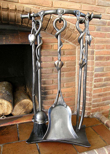Heart Companion Set Fireside Tools Screens Amp